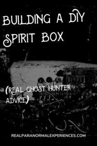 Building a DIY Spirit Box