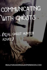 Communicating With Ghosts