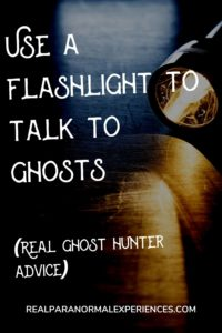Flashlight Sessions With Ghosts