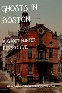 Ghosts in Boston
