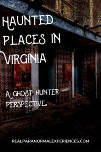 Haunted Places in West Virginia