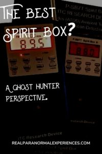 The Best Spirit Box