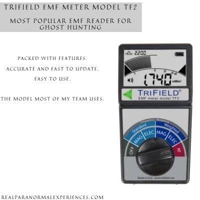 Trifield EMF Meter Model TF2 Ghost Hunting
