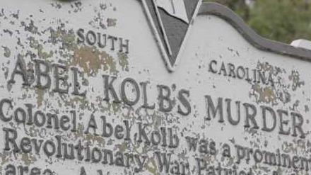 Colonel Abel Kolb ghost