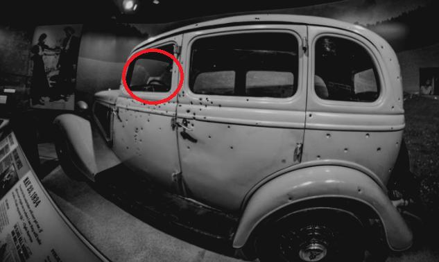 Bonnie & Clyde's Bullet-Ridden Car