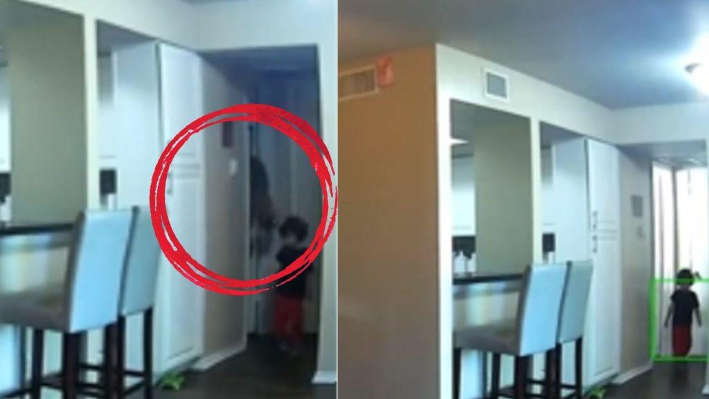 Ghost Child on Camera