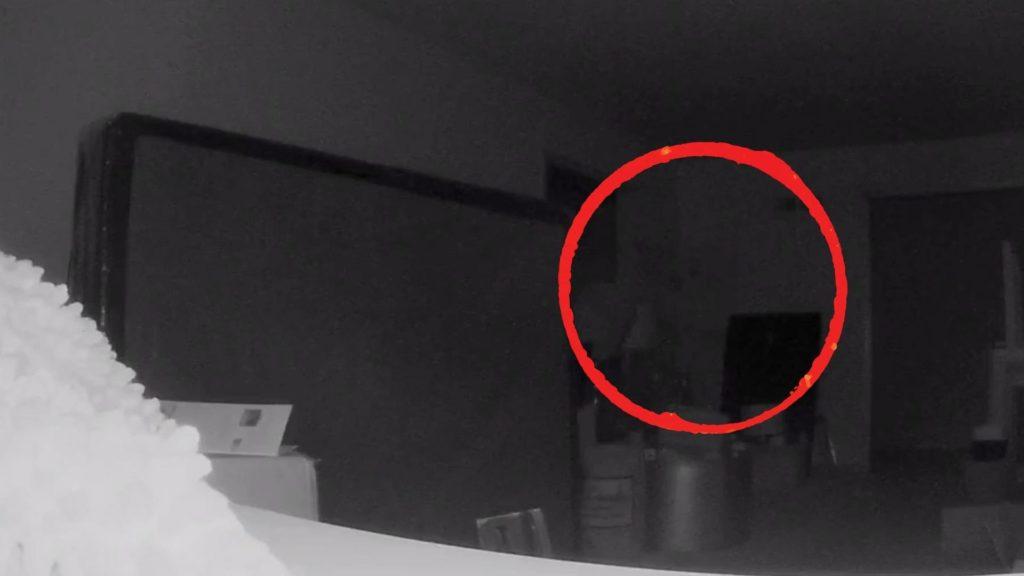 Ghost on Alarm Camera