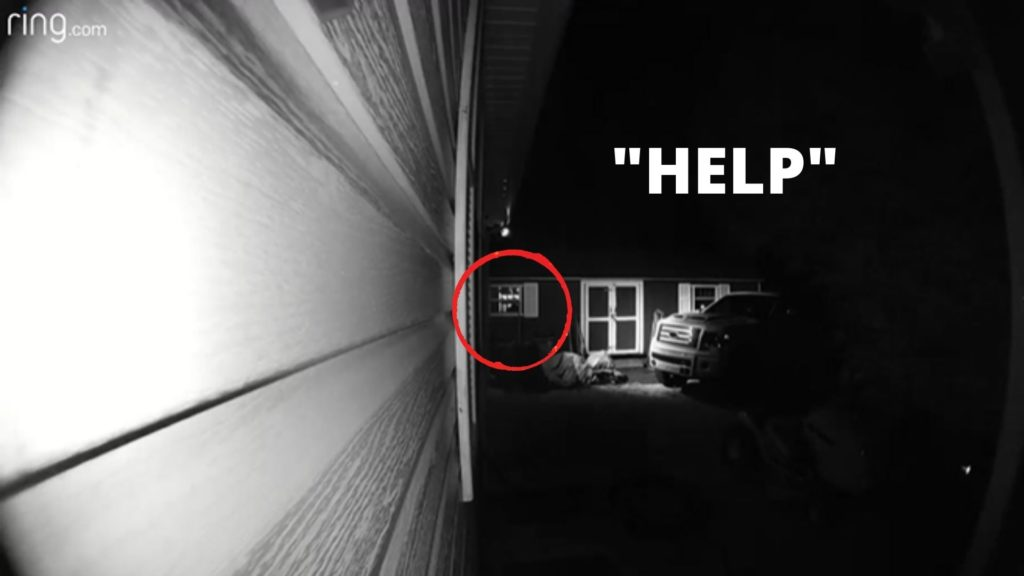 Ghost on Dorbell Camera
